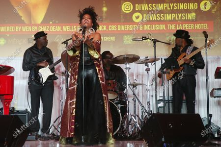 Editorial picture of DIVAS: Simply Singing, Taglyan Complex, Los Angeles, USA - 01 Dec 2019
