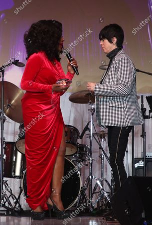 Sheryl Lee Ralph and Diane Warren