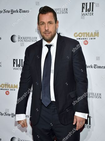 Adam Sandler attends the Independent Filmmaker Project's 29th annual IFP Gotham Awards at Cipriani Wall Street, in New York