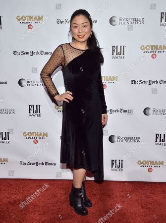 Nanfu Wang attends the Independent Filmmaker Project's 29th annual IFP Gotham Awards at Cipriani Wall Street, in New York