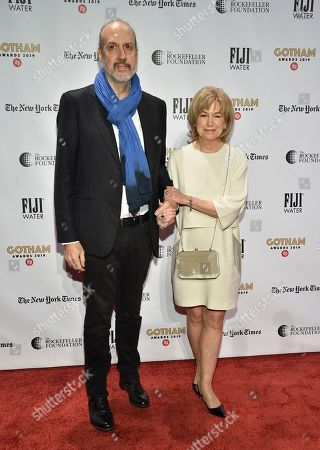 Kent Jones, Mary Kay Place. Director Kent Jones, left, and Mary Kay Place attend the Independent Filmmaker Project's 29th annual IFP Gotham Awards at Cipriani Wall Street, in New York