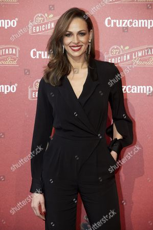 Editorial photo of 'Cruzcampo Navidad' event, Madrid, Spain - 28 Nov 2019