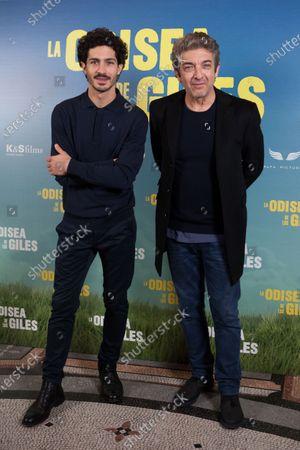 Stock Image of Chino Darin and Ricardo Darin