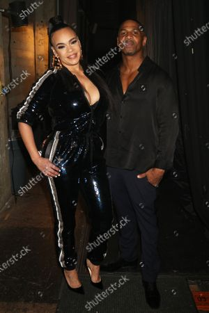 Faith Evans and Stevie J.