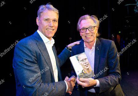 Marco van Basten and Jan Mulder