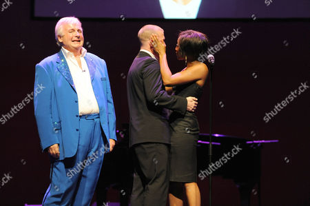 Christopher Biggins, Andrew Cowles and Beverley Knight