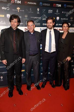 Stock Image of Demetrio Albertini and guests