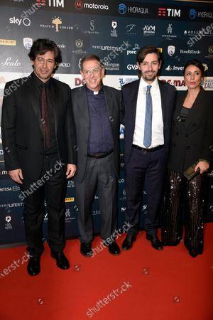 Stock Picture of Demetrio Albertini and guests