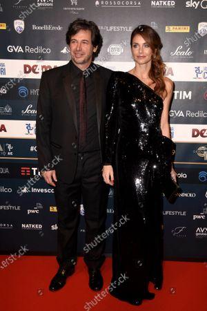 Demetrio Albertini and Uriana Capone