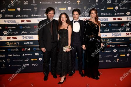 Editorial picture of Gran Gala of Football, Arrivals, Milan, Italy - 02 Dec 2019