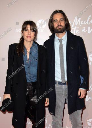 Stock Picture of Charlotte Casiraghi and Dimitri Rassam