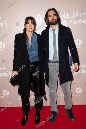 Stock Photo of Charlotte Casiraghi and Dimitri Rassam