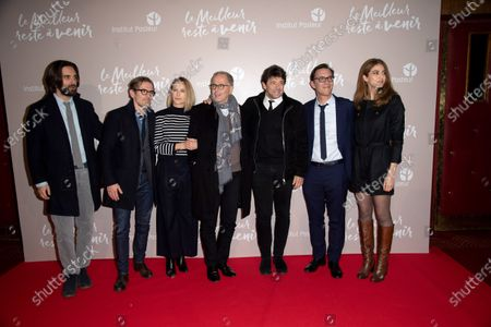 Dimitri Rassam, Pascale Arbillot, Fabrice Luchini, Patrick Bruel, Alexandre de la Patelliere, Zineb Triki and guest