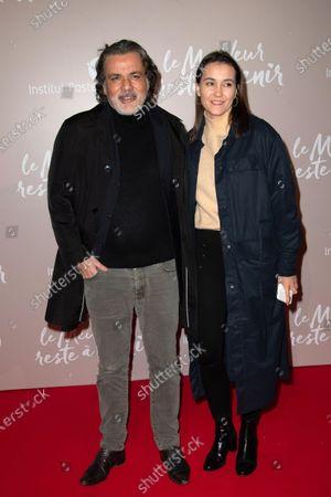 Christophe Barratier and Gwendoline Doycheva