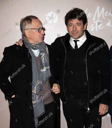 Fabrice Luchini and Patrick Bruel