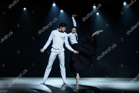 Jacopo Tissi and Svetlana Zakharova