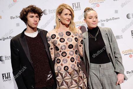 Jaya Harper, Laura Dern and Ellery Harper