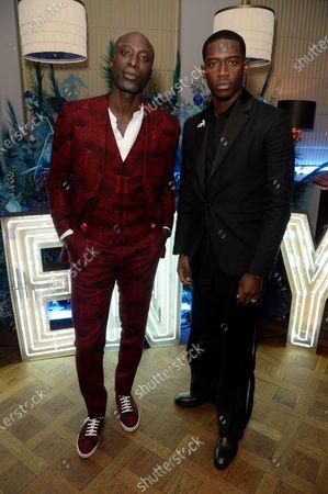 Ozwald Boateng and Damson Idris