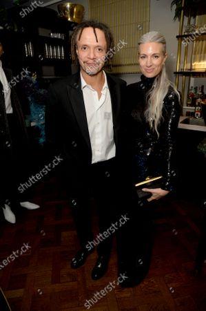 Sarah Harris and husband