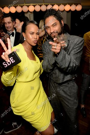 Sabrina Dhowre and Miguel