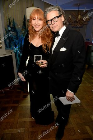 Stock Picture of Charlotte Tilbury and George Waud