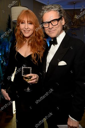 Stock Photo of Charlotte Tilbury and George Waud