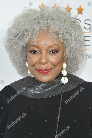 Stock Photo of L. Scott Caldwell attends the Celebration of Black Cinema at the Landmark Theatre, in Los Angeles