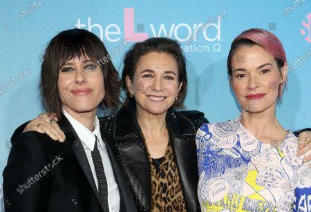 Kate Moennig, Ilene Chaiken, Leisha Hailey