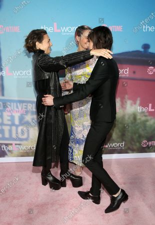 Editorial image of 'The L Word: Generation Q' TV show premiere, Arrivals, Regal Cinemas L.A. LIVE, Los Angeles, USA - 02 Dec 2019