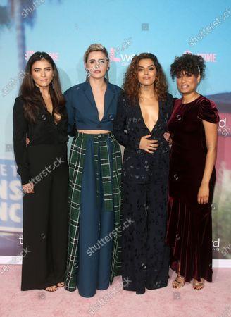 Arienne Mandi, Jacqueline Toboni, Sepideh Moafi, Rosanny Zayas