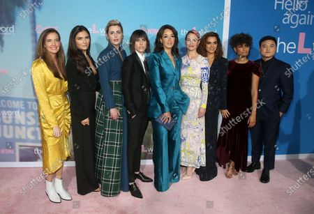 Stephanie Allynne, Arienne Mandi, Jacqueline Toboni, Sepideh Moafi, Rosanny Zayas, Leo Cheng, Jennifer Beals, Leisha Hailey, Kate Moennig