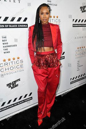 Editorial photo of Celebration of Black Cinema, Los Angeles, USA - 02 Dec 2019