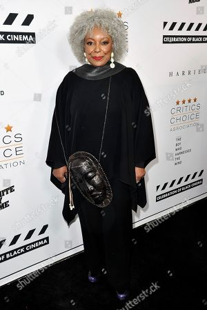 L. Scott Caldwell attends the Celebration of Black Cinema at the Landmark Theatre, in Los Angeles