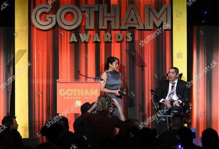 Editorial image of 2019 IFP Gotham Awards - Inside, New York, USA - 02 Dec 2019