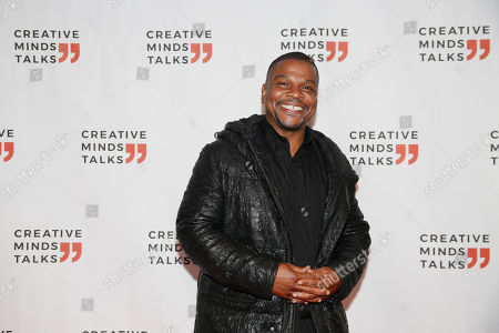 Kehinde Wiley arrives to a Creative Minds Talks during Art Basel, in Miami Beach, Fla
