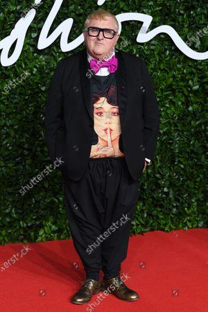 Editorial photo of The Fashion Awards, Arrivals, Royal Albert Hall, London, UK - 02 Dec 2019