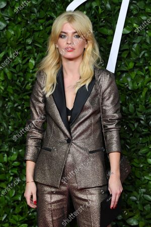 Editorial picture of The Fashion Awards, Arrivals, Royal Albert Hall, London, UK - 02 Dec 2019