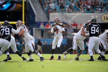 Editorial photo of Buccaneers Jaguars Football, Jacksonville, USA - 01 Dec 2019
