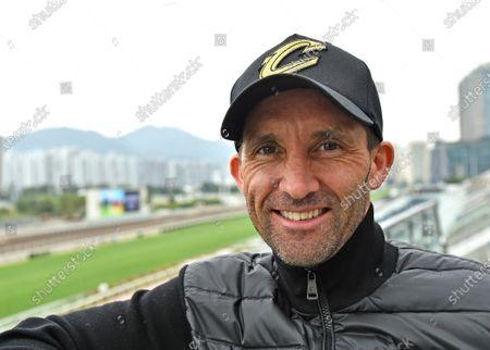 Neil Callan, Irish jockey now based in Hong Kong.