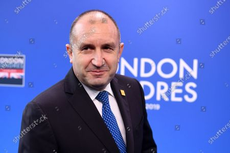 Bulgaria's President Rumen Radev arrives at the NATO Summit in London, Britain, 04 December 2019. NATO countries' heads of states and governments gather in London for a two-day meeting.