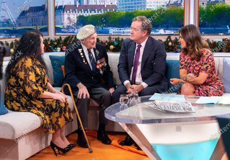 Annie Riley, Cyril Banks, Piers Morgan and Susanna Reid