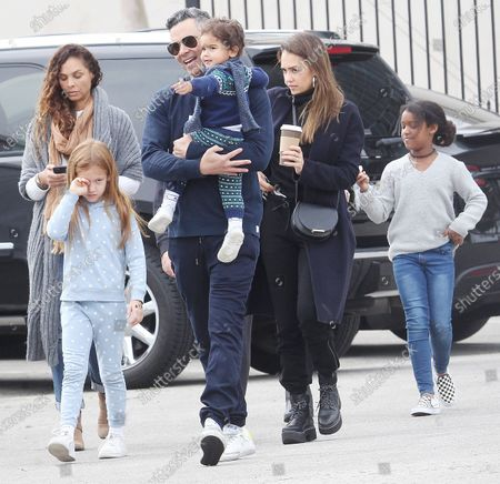Jessica Alba, Haven, Honor Marie, Hayes, Cash Warren