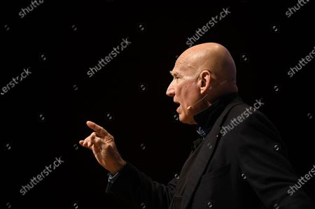 Brazilian photographer Sebastiao Salgado participates during the conference 'The Brazilian Amazon' at the UN Climate Change Conference COP25 held in Madrid, Spain, 03 December 2019. The UN Climate Change Conference COP25 runs from 02 to 13 December 2019 in the Spanish capital.