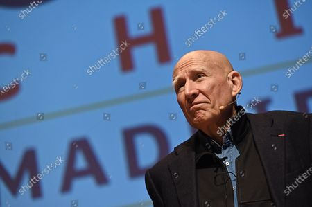 Stock Picture of Brazilian photographer Sebastiao Salgado participates during the conference 'The Brazilian Amazon' at the UN Climate Change Conference COP25 held in Madrid, Spain, 03 December 2019. The UN Climate Change Conference COP25 runs from 02 to 13 December 2019 in the Spanish capital.