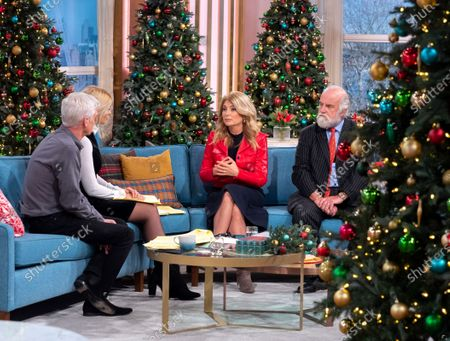 Phillip Schofield, Holly Willoughby, Lisa Bloom and Dai Davies