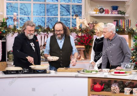 Editorial image of 'This Morning' TV show, London, UK - 03 Dec 2019