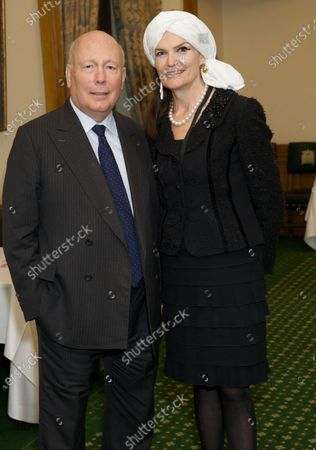 Stock Picture of Julian Fellowes, Emma Fellowes