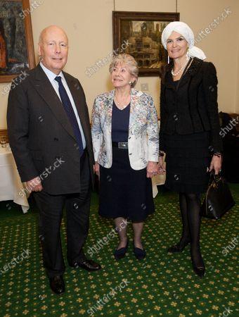 Julian Fellowes, Valerie Singleton, Emma Fellowes