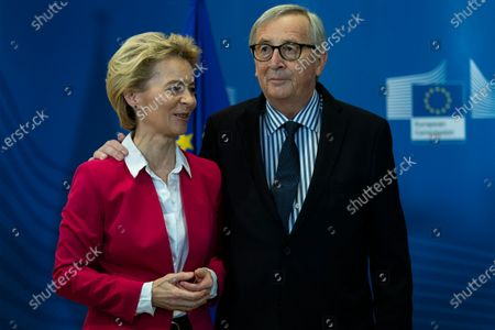 Editorial photo of Official handover ceremony of European Commission Presidency, Brussels, Belgium - 03 Dec 2019