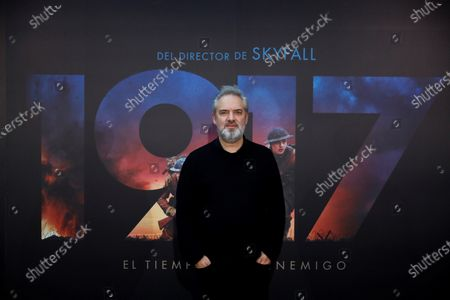 Editorial photo of Photo-call for Sam Mendes' 1917 in Madrid, Spain - 03 Dec 2019